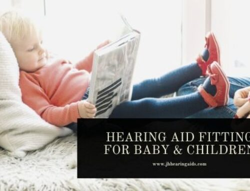 Hearing aids fitting for children